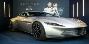 Subastarán automóvil de James Bond para causa social