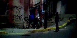 Video: captan in fraganti a sujetos que robaban cable de cobre