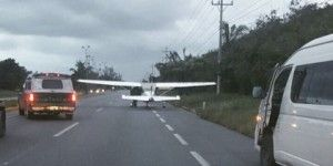 Aterriza de emergencia aeronave de alcalde de Cozumel