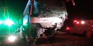 Al menos 25 heridos por choque de un camión en Guanajuato