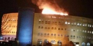 No hay heridos tras incendio del Coliseo Centenario de Torreón