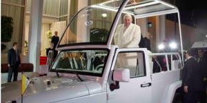 El primer recorrido del papa Francisco