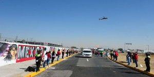 Apresuran trabajos en Ecatepec para llegada del Papa Francisco
