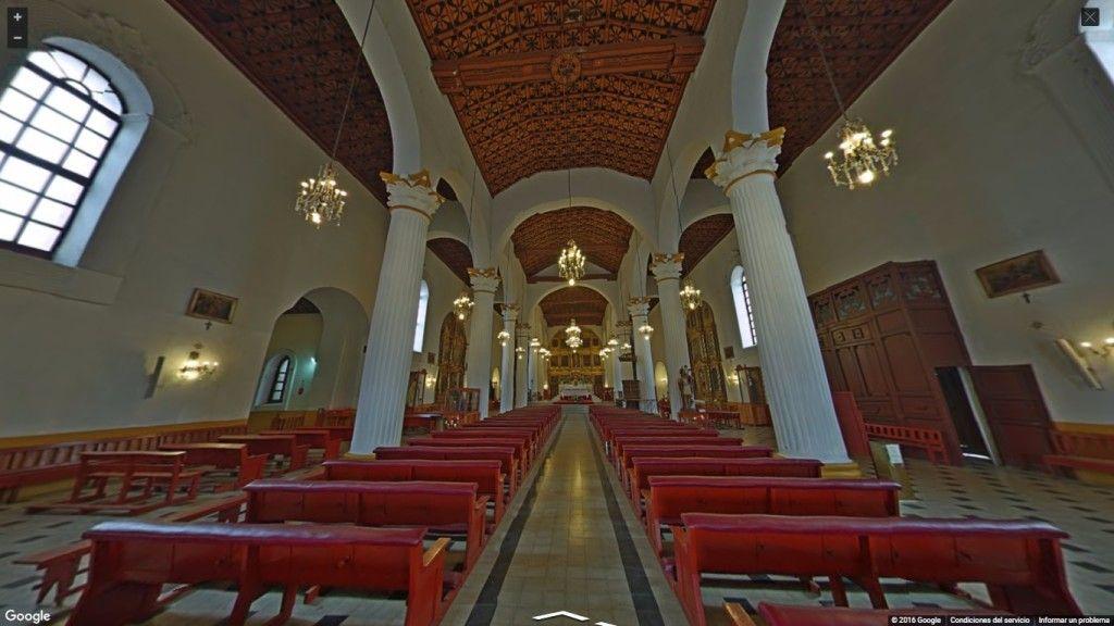 Google Street View Catedral San Cristóbal