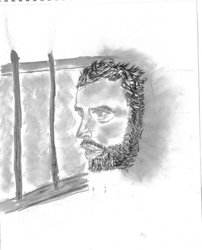 Dibujo de Leopoldo López