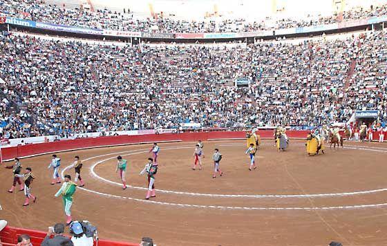 Resultado de imagen de plaza de toros México D.F. (México)