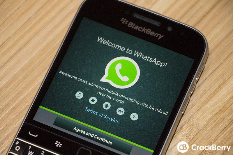Resultado de imagen de blackberry whatsapp