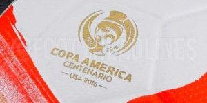 Filtran el balón de la Copa América Centenario