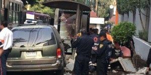Seis heridos por accidente vial en Miguel Ángel de Quevedo