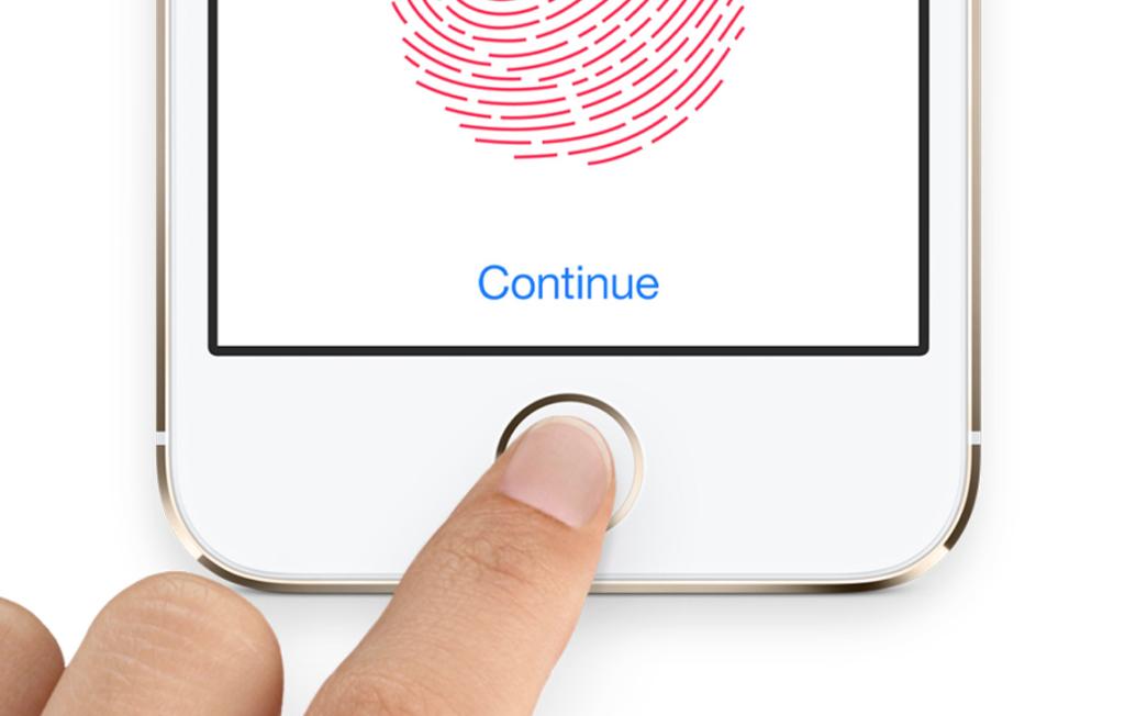 Touch ID. Foto de Apple