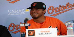 Orioles de Baltimore presentan a Yovani Gallardo