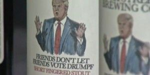 """Cervecería crea marca """"anti-Trump"""""""