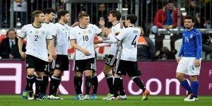 Alemania humilla a Italia