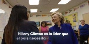 Video: Hillary Clinton lanza spot en español