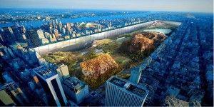 El proyecto que propone hundir Central Park 30 metros