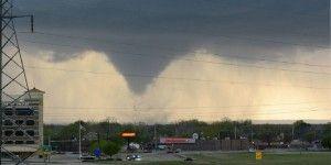 Nueve heridos por tornados en Oklahoma