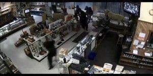 Video: ladrones saquean tienda de armas en Estados Unidos