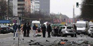 Explosión de auto en Berlín deja un muerto