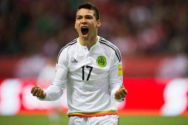 Hirving Lozano. Foto de Mexsport