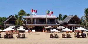 Muere hombre canadiense en playa de Oaxaca
