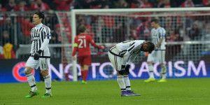 Juventus perdona al Bayern y termina eliminado