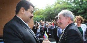 Nicolás Maduro envía mensaje de apoyo a Lula