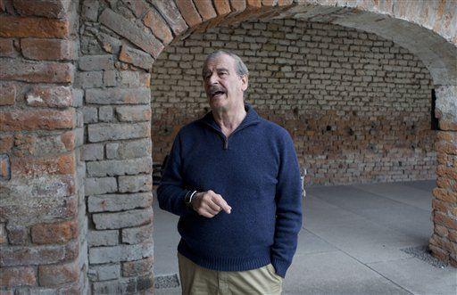 Vicente Fox. Foto de AP