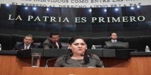 Senadora del PRI manifestó respaldo a Margarita Zavala