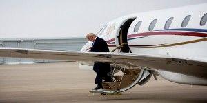 Maniobra legal permite volar a avión de Donald Trump
