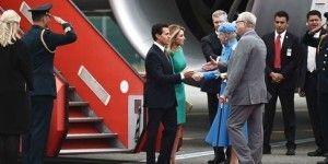 La Reina Margarita II de Dinamarca recibe al presidente Peña Nieto