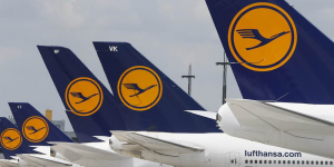 Lufthansa cancelará 900 vuelos por huelga en Alemania