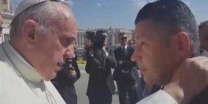 Video: papa Francisco admite haber recibido amenazas