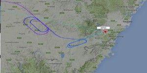 Avión dio vueltas en círculos por horas para aterrizar de emergencia