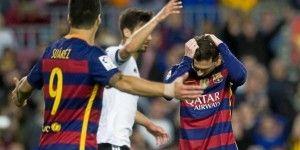 El Barcelona continúa en picada