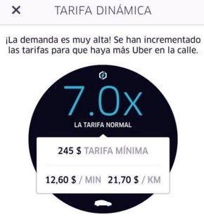 Uber tarifa dinamica - erichleonardo