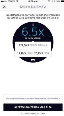 Uber tarifa dinamica2