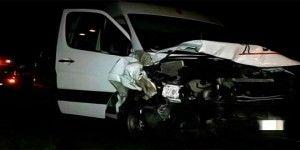 Niños triquis sufren accidente vial en Puebla