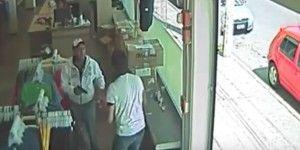 Video: asalta una tienda de ropa y dispara al gerente