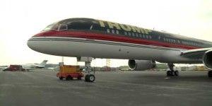Así es el impresionante avión de Donald Trump