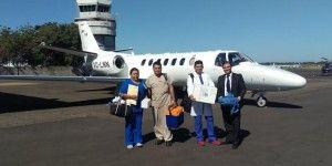 La PGR transporta corazón de Guadalajara a Culiacán