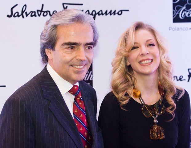 Lorenzo Lazo y Edith González. Foto de Quién