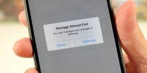 Nuevo truco para incrementar notablemente el espacio en iPhones