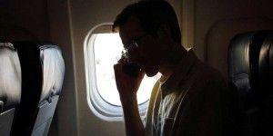 ¿Qué pasa si no activamos el 'modo avión' durante un vuelo?