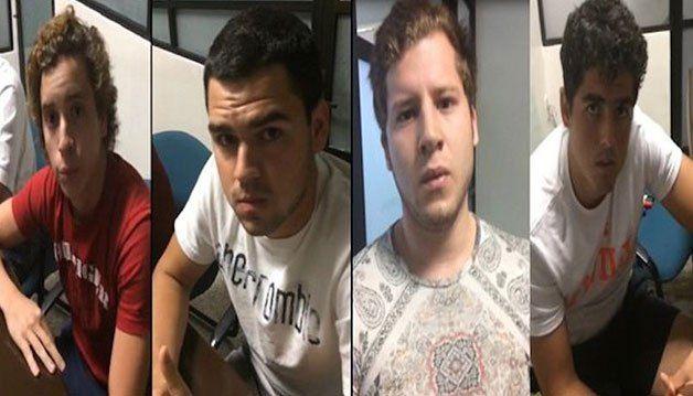 Presuntos responsables del caso Daphne.