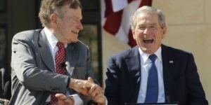 Ex presidentes Bush descartan apoyar a Donald Trump