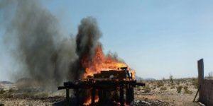 Incineran más de 3 toneladas de estupefacientes en Jalisco