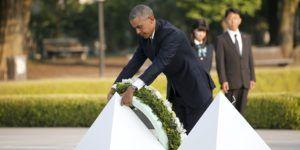 Obama rinde homenaje a supervivientes de Hiroshima