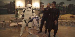 Video: los Obama celebran el Día de Star Wars