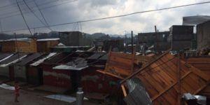 Video: fuerte remolino azotó a San Cristóbal de las Casas
