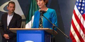 'Me siento extremadamente honrada como embajadora de EE.UU. en México': Jacobson